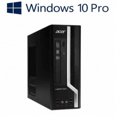 Calculatoare refurbished Acer Veriton X4620G SFF, i5-3470, Win 10 Pro - Sisteme desktop fara monitor Acer, Windows 10
