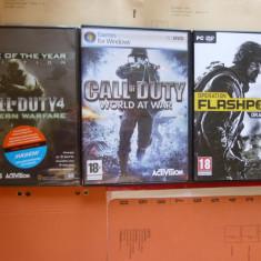 Call of duty Modern Warfare si World at war - pachet 3 jocuri - Joc PC Activision, Shooting, 12+, Single player