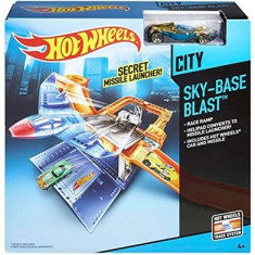 Jucarie Hot Wheels Mission Control Airport Playset - Masinuta Mattel