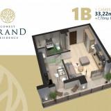 Comision 0 $ - Conest Residence Iasi - Apartamente cu 1, 2 sau 3 camere - Apartament de vanzare, 50 mp, Numar camere: 2, An constructie: 2017, Parter