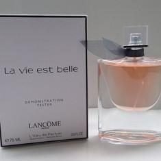 TESTER Parfum LANCOME La vie est belle 75 ml+CADOU