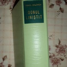 Donul linistit ( editie de lux ) - an 1963/1803pag/cartonata- Mihail Solohov - Carte de colectie