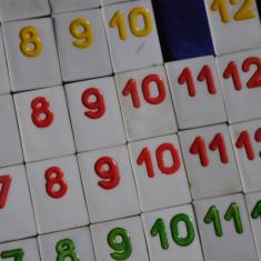 Piese de schimb Remi, Rummy romanesc din plastic - Joc board game