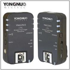Set trigger + receptor Yongnuo YN622N II 1+1 buc. TTL Flash pentru Nikon, Declansator