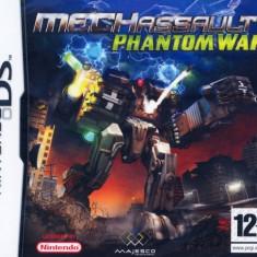 Mech Assault Phantom War Nintendo Ds - Jocuri Nintendo DS Eidos