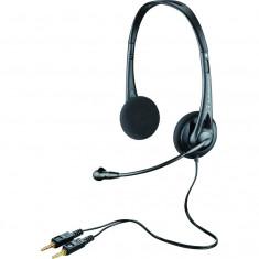 Casti Plantronics Audio 322, cablu 1.7m, Casti On Ear, Cu fir, Mufa 3, 5mm