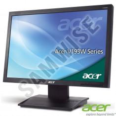 Monitor LED 19 ACER V193WL 1440 x 900 Wide 5ms VGA Cabluri + GARANTIE !!
