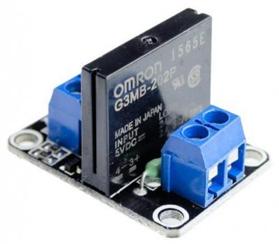 Modul cu un releu Solid state, Ucomanda-5V, max.2A-250VAC, cod: 10104517 foto