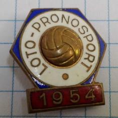 Insigna Loto-Pronosport 1954