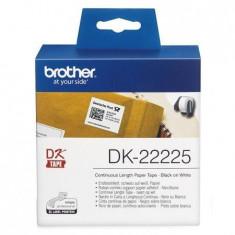 Brother Banda continua hartie DK22225, 38mm, 30.48m - Imprimanta termice