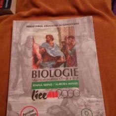 Manual de biologie clasa a IXa ALL - Manual scolar all, Clasa 9