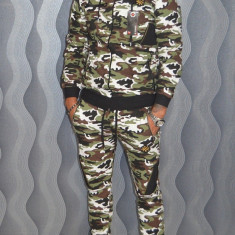 Trening GalatiFashion camuflaj pantaloni + bluza toamna 2017