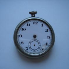 Ceas de buzunar Remontoir Cylindre 6 rubis defect - pentru piese