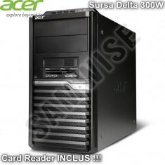 Carcasa Middle Tower Acer M430G cu Sursa Delta 300W si Card Reader GARANTIE !!! - Carcasa PC Acer, Sursa inclusa