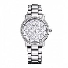 Ceas elegant dama Quartz 2109-2, argintiu - Ceas dama