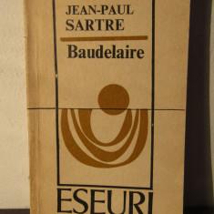 BAUDELAIRE de JEAN- PAUL SARTRE - Studiu literar