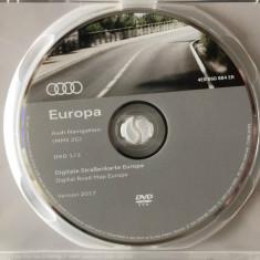 AUDI CD DVD NAVIGATIE AUDI DVD HARTA NAVIGAȚIE AUDI MMI 2G EUROPA ROMANIA 2017 - Software GPS