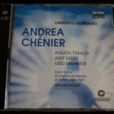 Giordano - Andre Chanier - 2cd - Muzica Opera Altele