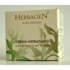 Crema de fata hidratanta cu ulei abisinian si unt de shea 100ml, Herbagen