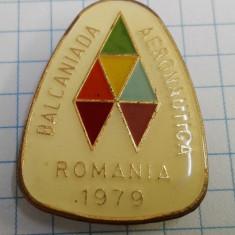 Insigna Balcaniada de Aeronautica, Romania 1979