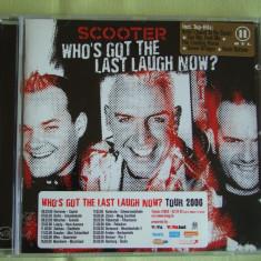 SCOOTER - Who's Got The Last Laugh Now - C D Original - Muzica House