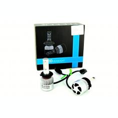 Set Bec H7 cu LED S2 chip led Korea Putere: 40W - 4800 lumen 6000k 12-24v