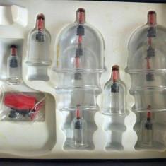 Set ventuze chinezesti, plastic