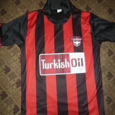 Tricou al Echipei Fotbal -Gaziantepspor Turcia, nr.27, masura S - Tricou echipa fotbal, Marime: S, Culoare: Negru