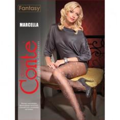 Dres subtire cu model din ata colorata Marcella,Conte Elegant