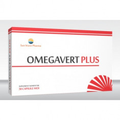 Omegavert Plus 30 capsule, Sun Wave Pharma - Produs sporirea imunitatii