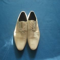 PANTOFI BIANCO MAN ORIGINALI - Pantofi barbat, Marime: 42, Culoare: Din imagine