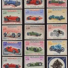 Monaco, masini de epoca, 1967, MNH** - Timbre straine, Nestampilat