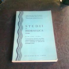 STUDII DE HIDRAULICA - DUMITRU CIOC - Carti Energetica