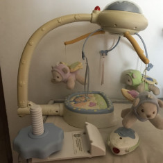 Carusel bebe - Carusel patut Fisher Price
