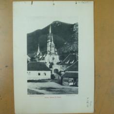 Brasov biserica Sf. Nicolae Fagaras cetatea 1904 Bucuresti Antoniu Socec - Carte Postala Transilvania pana la 1904, Necirculata, Fotografie