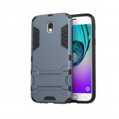 Husa hibrid g-shock pentru Samsung Galaxy J5 2017 SM-J530 (versiune Europa), dark blue - Husa Telefon, Plastic