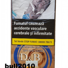 Tigari de foi DB, tutun calitate superioara - Tutun Pentru tigari de foi