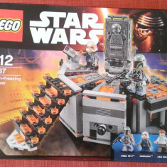 Lego Star Wars 75137 Original - Inghetare in Carbonit - nou, sigilat in cutie, 6-10 ani