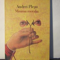 MINIMA MORALIA -ANDREI PLESU - Filosofie