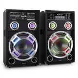 Skytec KA-12 Set Activ PA Difuzor cu sistem de Karaoke - Echipament karaoke