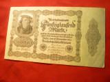Bancnota 50 000 Marci  1922 , cal.F.Buna Germania