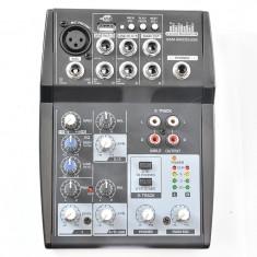Mixer audio QSM-AMC05USB 5 channels