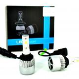 Set Bec Hb3 9005 cu LED S2 chip led Korea Putere: 40W - 4800 lumen 6000k 12-24v - Led auto, Universal