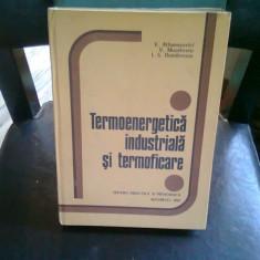 TERMOENERGETICA INDUSTRIALA SI TERMOFICARE - V. ATHANASOVICI - Carti Energetica