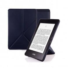 Husa de protectie flip cover eBook Kindle Paperwhite, negru - Husa Tableta