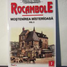 ROCAMBOLE.MOSTENIREA MISTERIOASA .VOL 2 - Carte de aventura