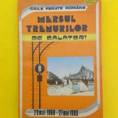 MERSUL TRENURILOR DE CALATORI = 1988-1989 - Ghid de calatorie