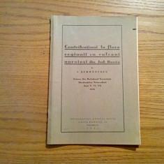 CONTRIBUTIUNI LA FLORA REGIUNII CU VULCANI NOROIOSI, JUD. BUZAU - I. Serbanescu, Alta editura