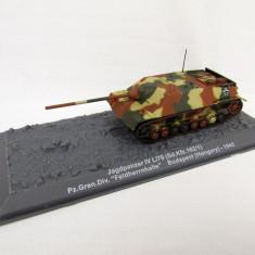 Macheta tanc Jagdpanzer IV - Budapest - 1945 scara 1:72 - Macheta auto