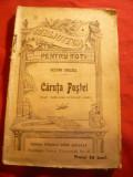 Nestor Urechia - Caruta Postei - 1907  BPT 271 Libr.Leon Alcalay